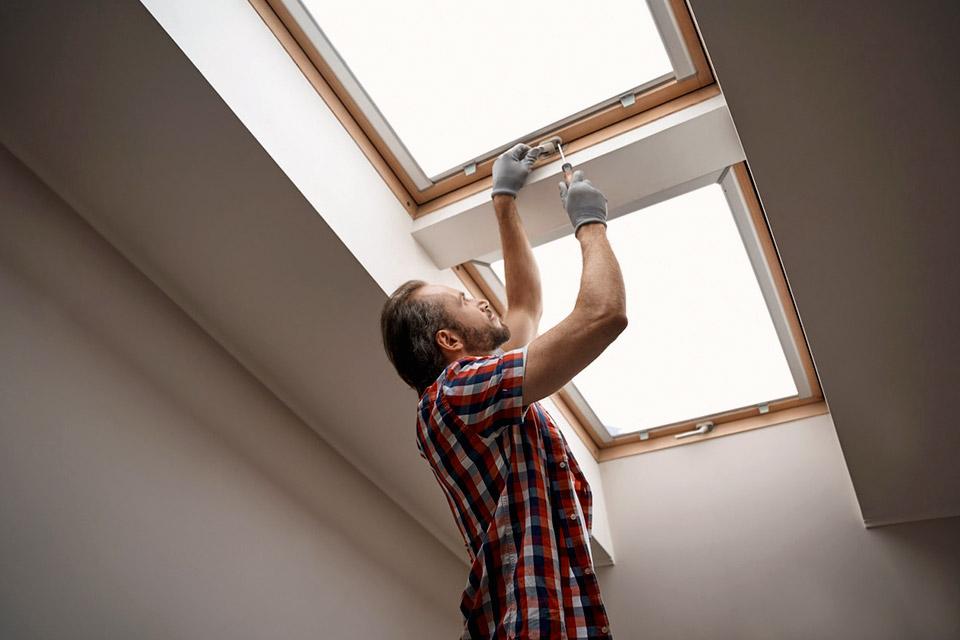 installer vitrage fenetre de toit